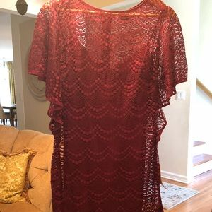 Gorgeous dress Adrianna Papell new with tags